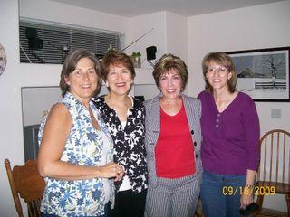 Audra, Debby, Janet & me