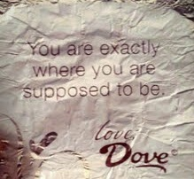 Dove exactly message