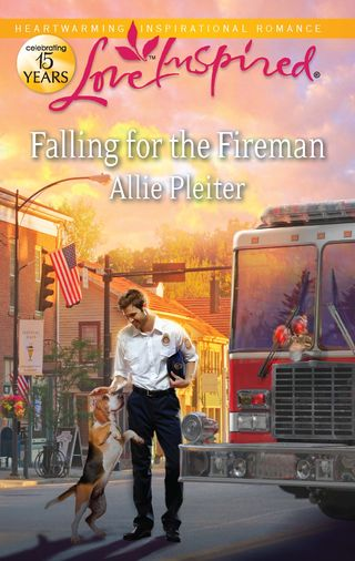 Front cover - Falling for the Fireman
