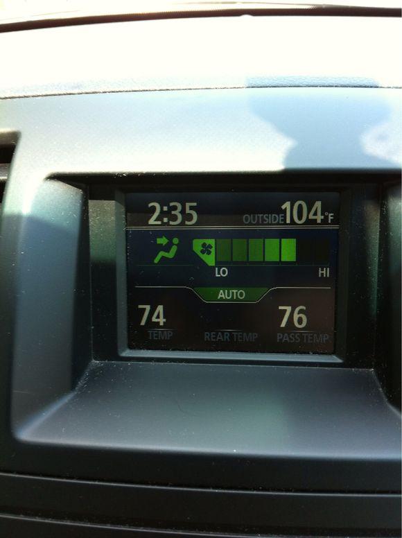 It's hot!!!